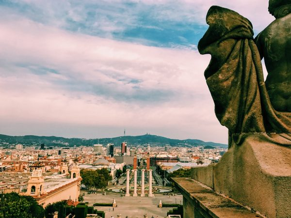 276/366 Looking over Barcelona